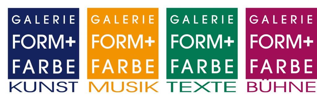 Galerie vier Logos